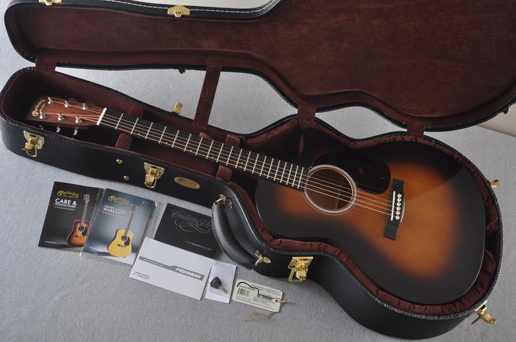 Martin Custom Shop GPCPA4 Adirondack Sunburst Fishman F1 Analog #2193583 - Case