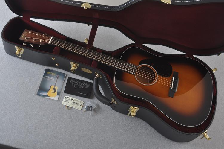 Martin Custom Shop D-18 Adirondack Vintage Sunburst Acoustic Guitar #2193568 - Case
