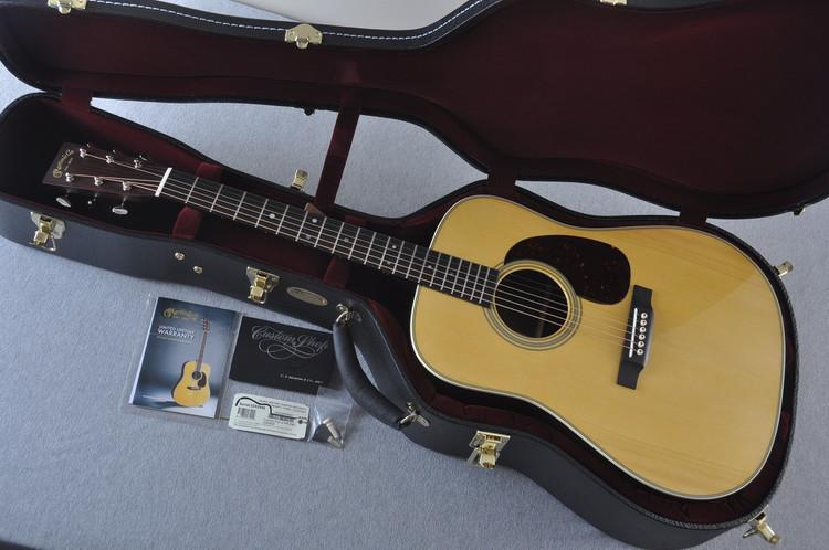 Martin Custom Shop D-28 Adirondack Acoustic Guitar #2202946 - Case