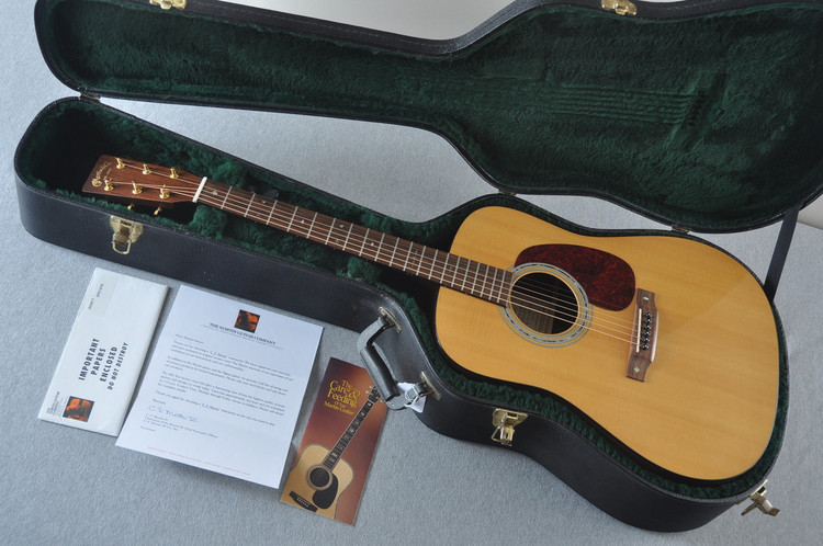 1997 Martin SPD-16TR Sitka Indian Rosewood Acoustic Guitar #604817 - Case