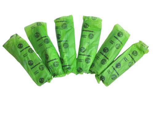 If you order in bulk, you'll receive multiple bundles with 50 poop bags, each wrapped in an Original Poop Bag.  One free pick up per bundle and reduces one plastic sleeve.