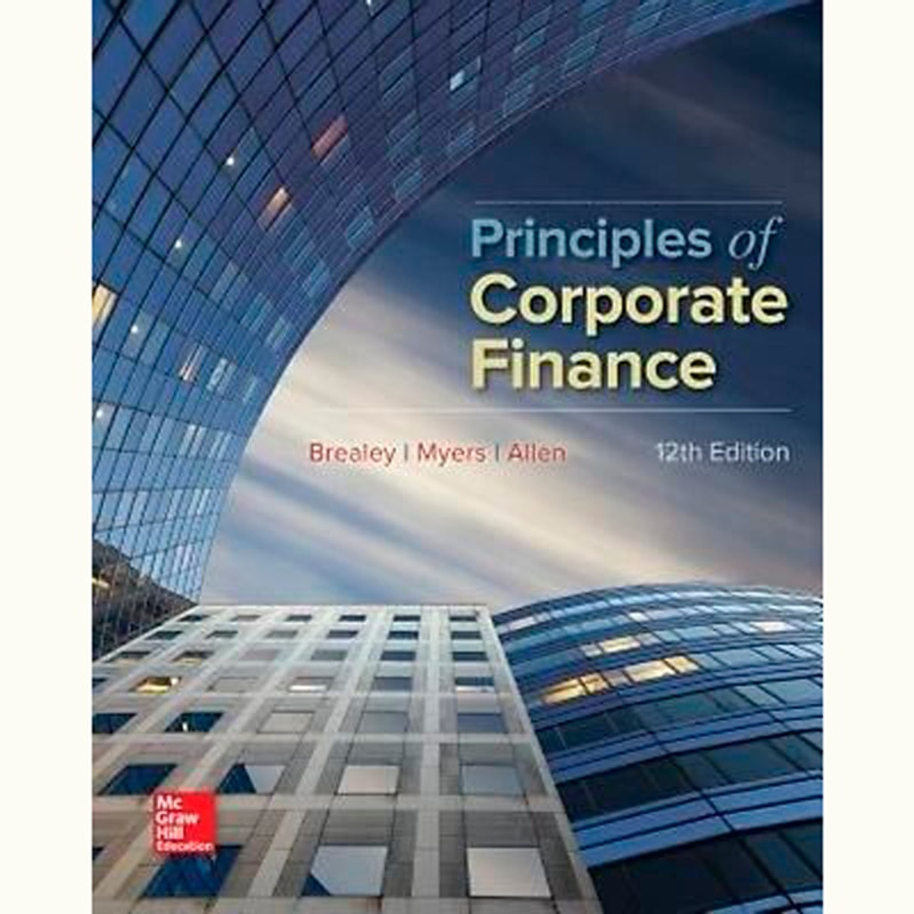 9781259144387 principles of corporate finance 12th edition principles of corporate finance 12th edition richard brealey and stewart myers fandeluxe Choice Image