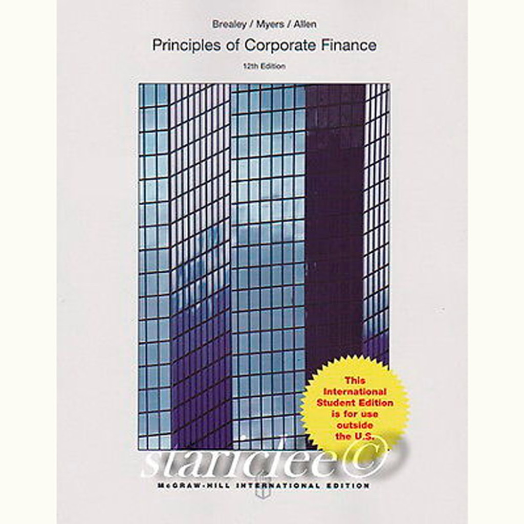 9781259144387 | Principles of Corporate Finance (12th Edition ...