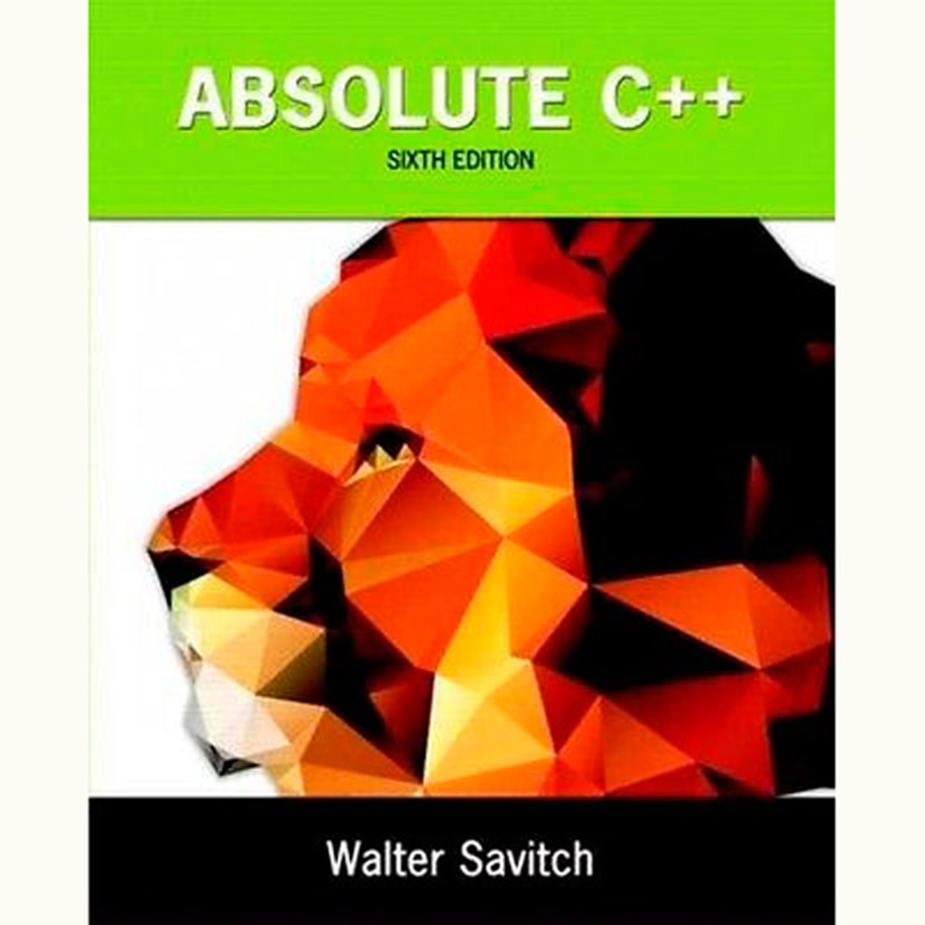 9780133970784 absolute c 6th edition walter savitch and absolute c 6th edition walter savitch and kenrick mock fandeluxe Gallery