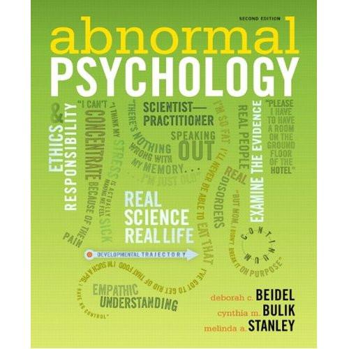 Abnormal Psychology (2nd  Edition) Beidel