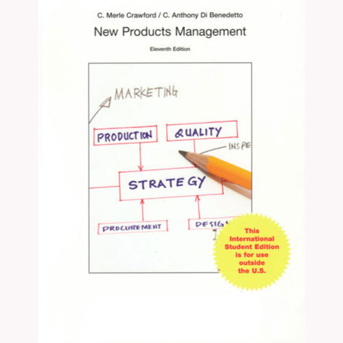 New Products Management (11th Edition) Crawford IE