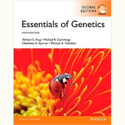 Essentials of Genetics (9th Edition) William S. Klug and Michael R. Cummings IE