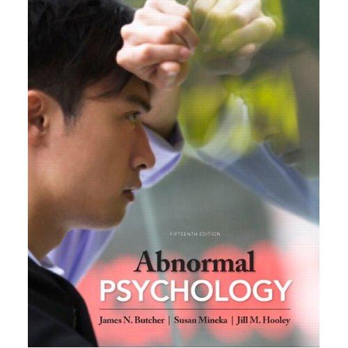 Abnormal Psychology (15th Edition) Butcher