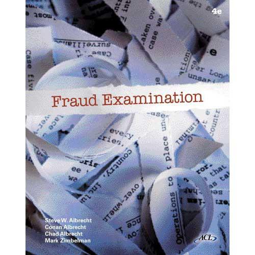 Fraud Examination (4th Edition) Albrecht