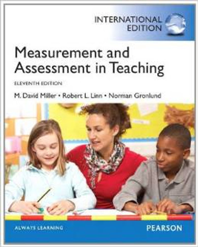 Measurement and Assessment in Teaching (11th Edition) Miller IE