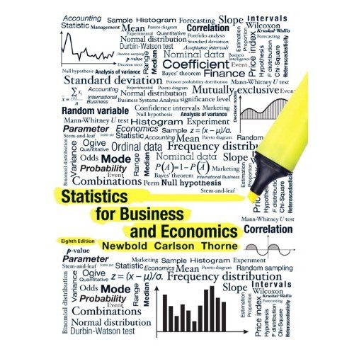 Statistics for Business and Economics (8th Edition) Newbold