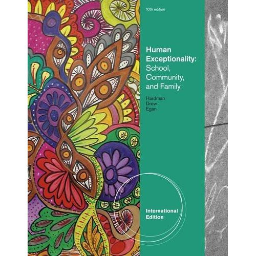 Human Exceptionality (10th Edition) Hardman IE
