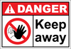 Danger Sign keep away