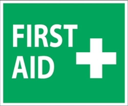 First Aid Decal