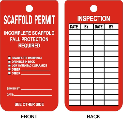 Do Not use Scaffold tag