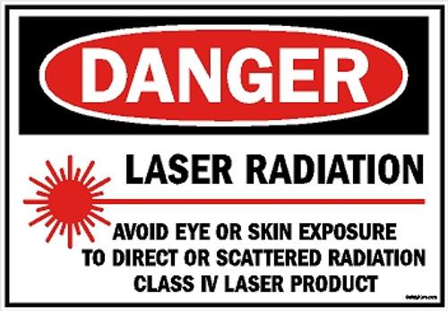 Danger Laser Radiation