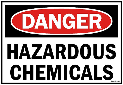 Hazardous Chemical Sign