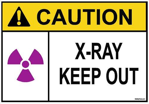 X-RAY Keep out Sign