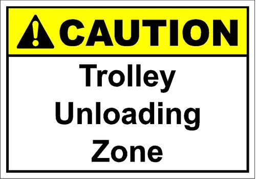 Trolley Unloading Zone