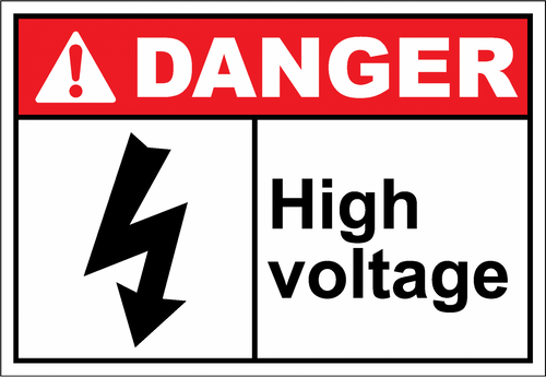 Danger Sign high voltage3