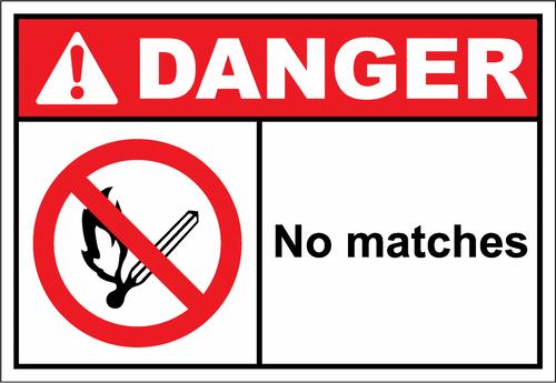 Danger Sign no matches