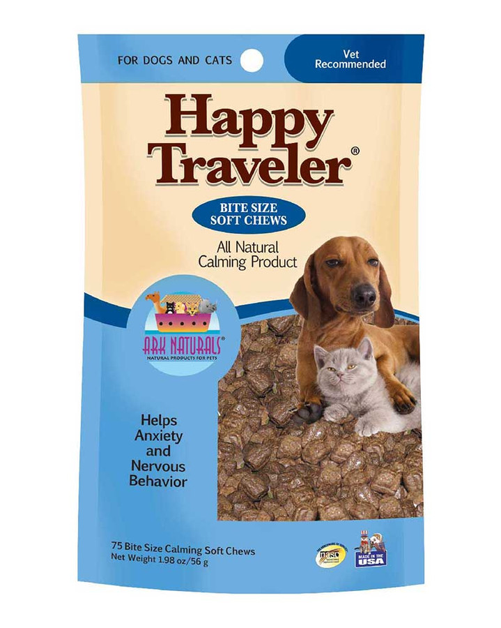 Happy Traveler Soft Chews by Ark Naturals