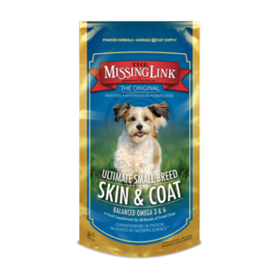 Missing Link Ultimate Small Breed Skin & Coat Formula for Small Dogs - 8 oz. Pouch