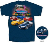 4th Generation Mustang Drive-in T-shirt