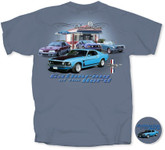 Gathering of the Herd - Mustang T Shirt with Boss 302 and More