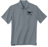 Performance Polo Mustang - Grey