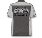 Mustang Fastback Mechanic-Shirt in Gray