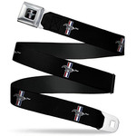 Kids Mustang Seatbelt Belt - Tri-Bar