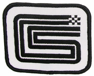 Shelby CS Logo Rectangular Patch