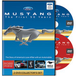 Mustang The First 50 Years DVD