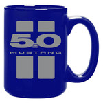 5.0 Mustang Blue 15oz. Coffee Mug