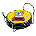 Ford Mustang 4-pc Coaster Set