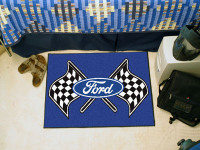 "Ford Flags 19"" x 30"" Mat"