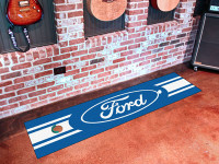 Ford Oval Golf Putting Green Mat