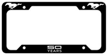50 Years Mustang License Plate Frame - Steel Art