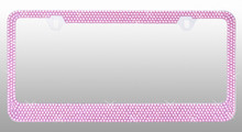 Pink Bling License Plate Frame