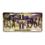 USA 1964 Mustang - License Plate