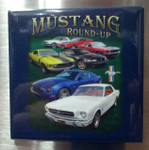 "Mustang ""Round-up"" Magnet"