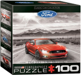2015 Ford Mustang Mini Puzzle - 100 Pieces