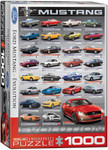 Ford Mustang Evolution 50th Puzzle - 1000 Pieces Portrait Style
