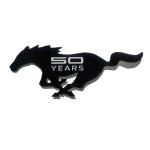 "12"" 50 Years Cutout Mustang Running Horse Sign"
