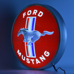 "Ford Mustang 15"" LED Backlit Sign"