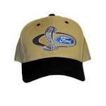 SVT Shelby Mustang Cobra Snake Hat Tan/ Black