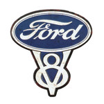 Ford V8 Embossed Magnet