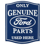 Ford Genuine Parts Embossed Magnet