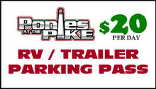 Trailer Parking Pass For Ponies at the Pike - Daily Oct 12-14